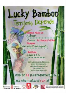 """Taller """"Lucky Bamboo. Territotio depende"""""""